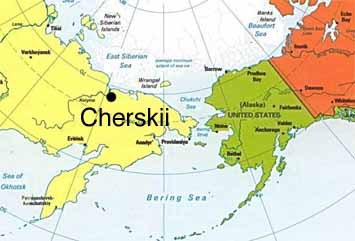 Northeast Science Station of Cherskii, Russia on vladivostok russia map, khakassia russia map, northeastern russia map, nyagan russia map, yakutsk russia map, chuvashia russia map, verkhoyansk russia map, novgorod russia map, kamchatka peninsula physical map, sakha republic russia map, stavropol russia map, kuril islands russia map, america and russia map, ural river russia map, chelyabinsk russia map, transcaucasia russia map, s the republic and russia map, tuva russia map, chukchi peninsula russia map, yakut map,